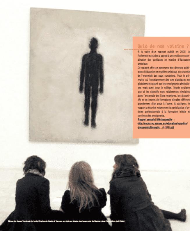 Grand dossier : Enseigner l'art aujourd'hui