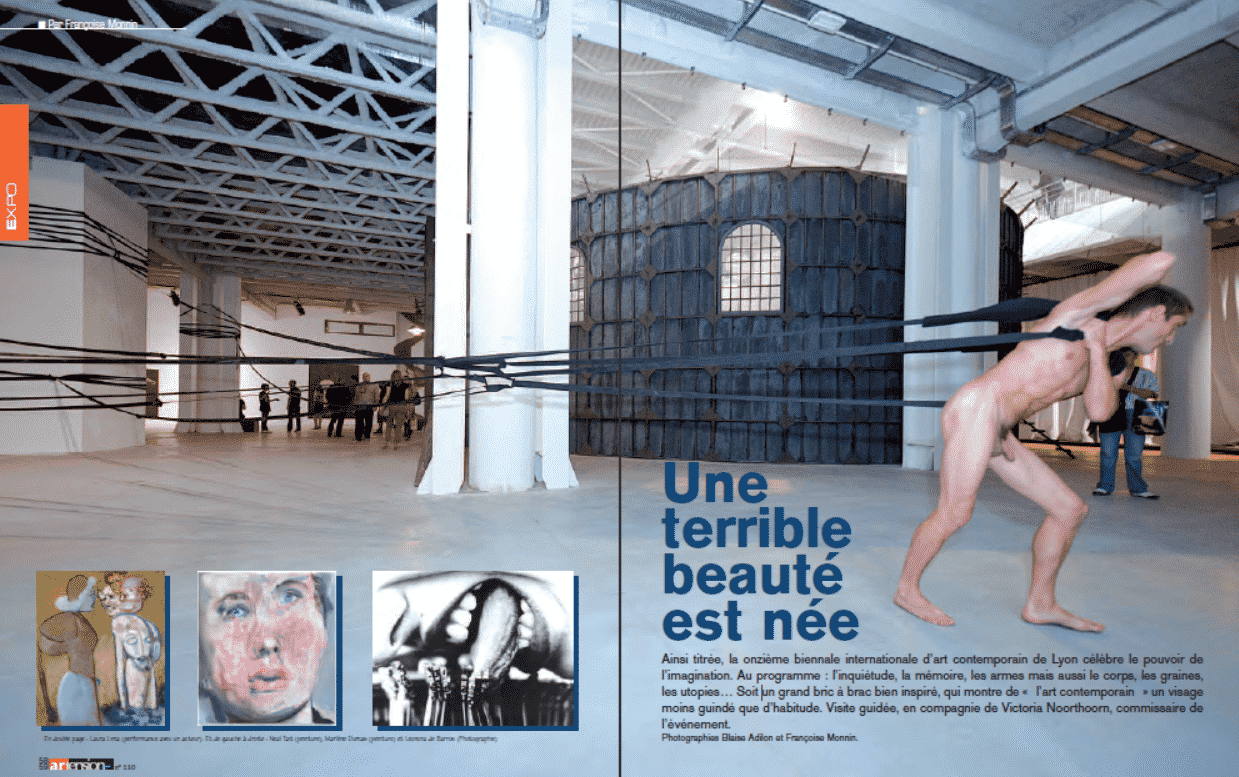 Onzième biennale internationale d'art contemporain de Lyon