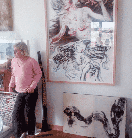 Les collectionneurs Andrée et Jacques Szmaragd