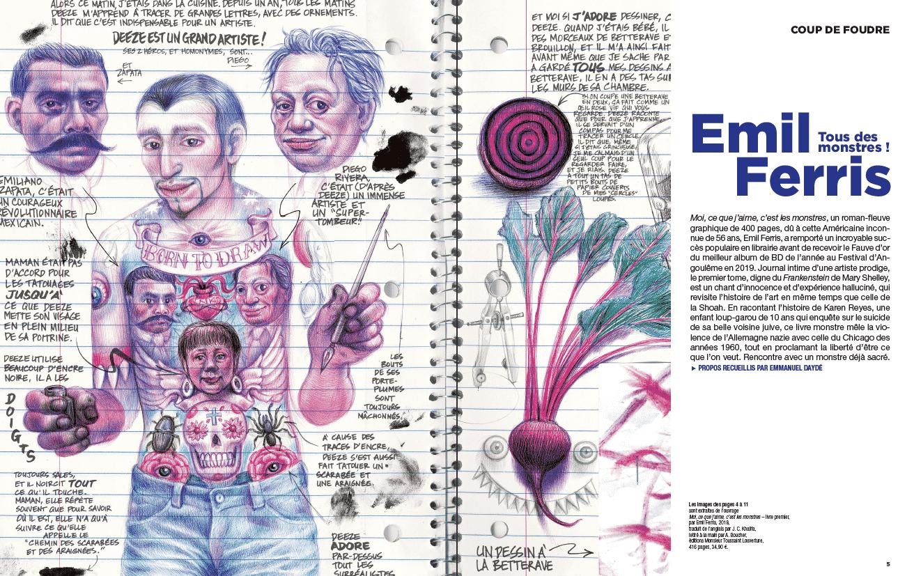Coup de cœur : Emil Ferris