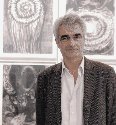Le galeriste Hervé Perdriolle