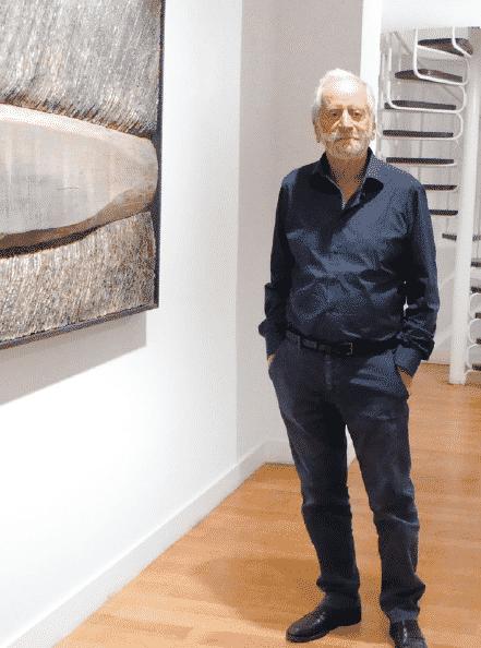 Le galeriste Fred Lanzenberg