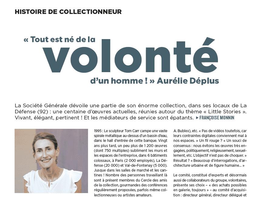 La collection d'entreprise de La Société Générale