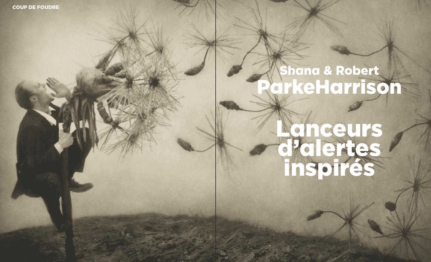 Coup de foudre : Shana & Robert ParkeHarrison