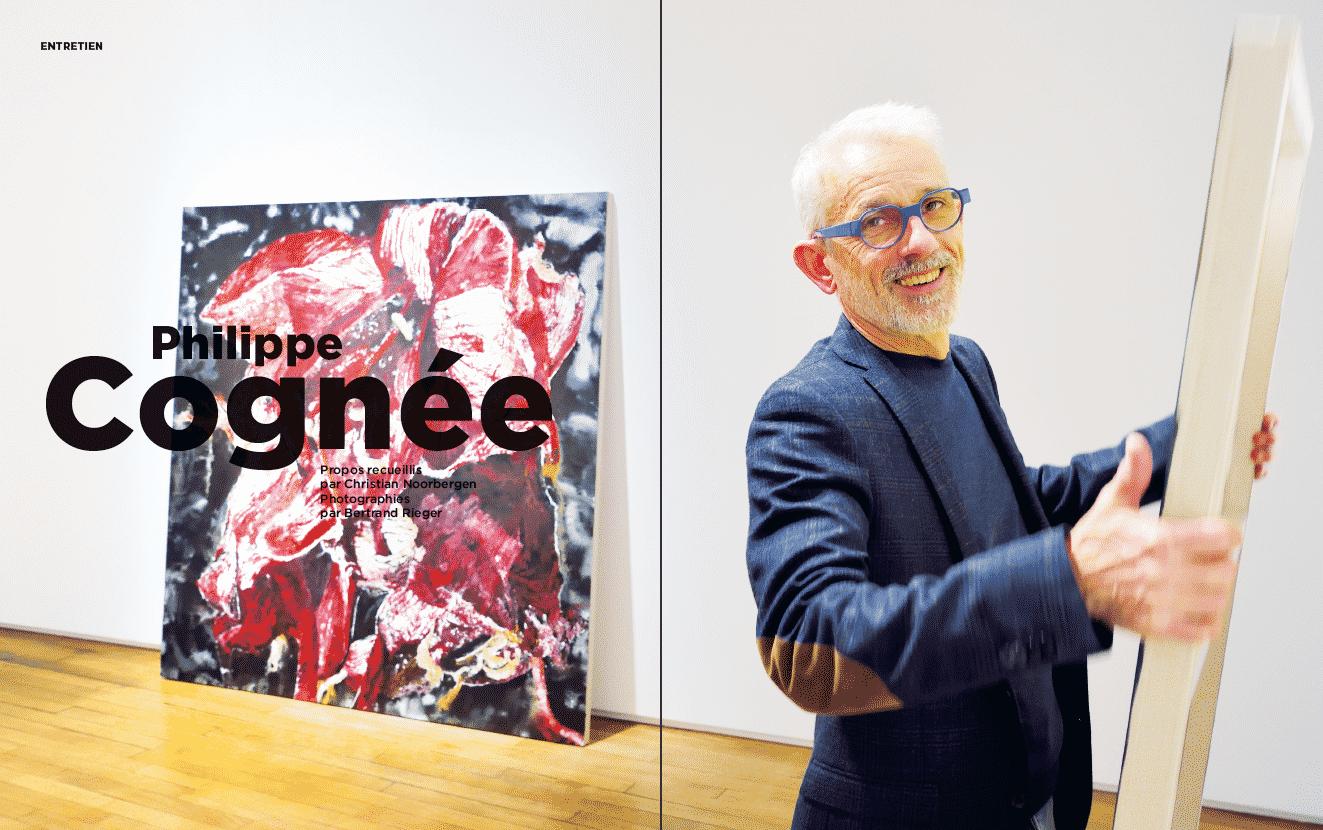 Grand entretien: Philippe Cognée