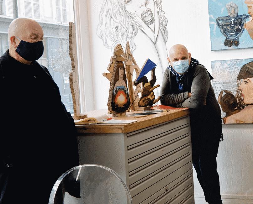 Cahier pro : les galeries face à la crise