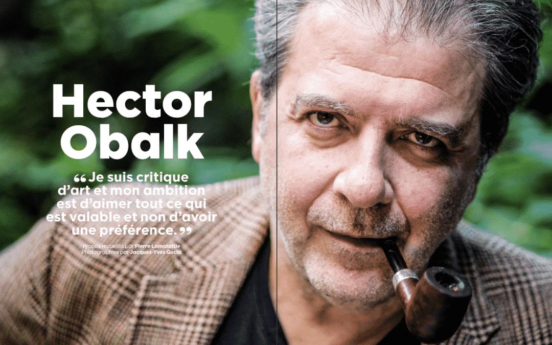 Grand entretien avec Hector Obalk