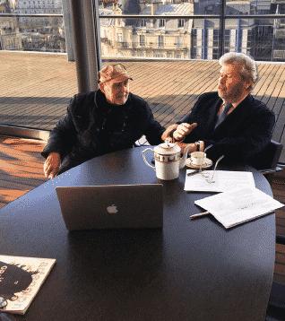 Rencontre avec le collectionneur Alain-Dominique Perrin
