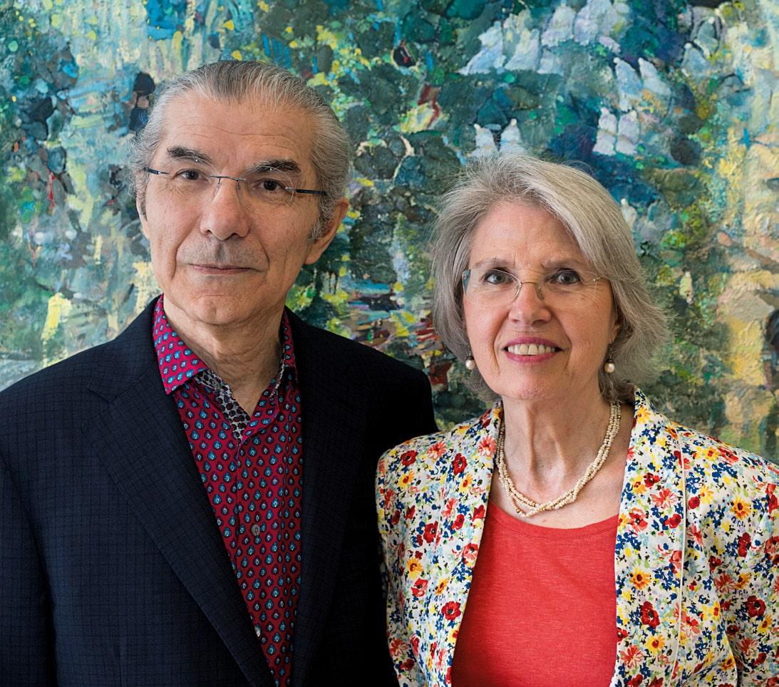 Histoire de collectionneurs : Claude et France Lemand