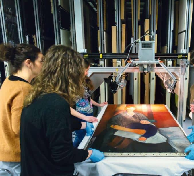 Cahier pro : les scientifiques de la peinture