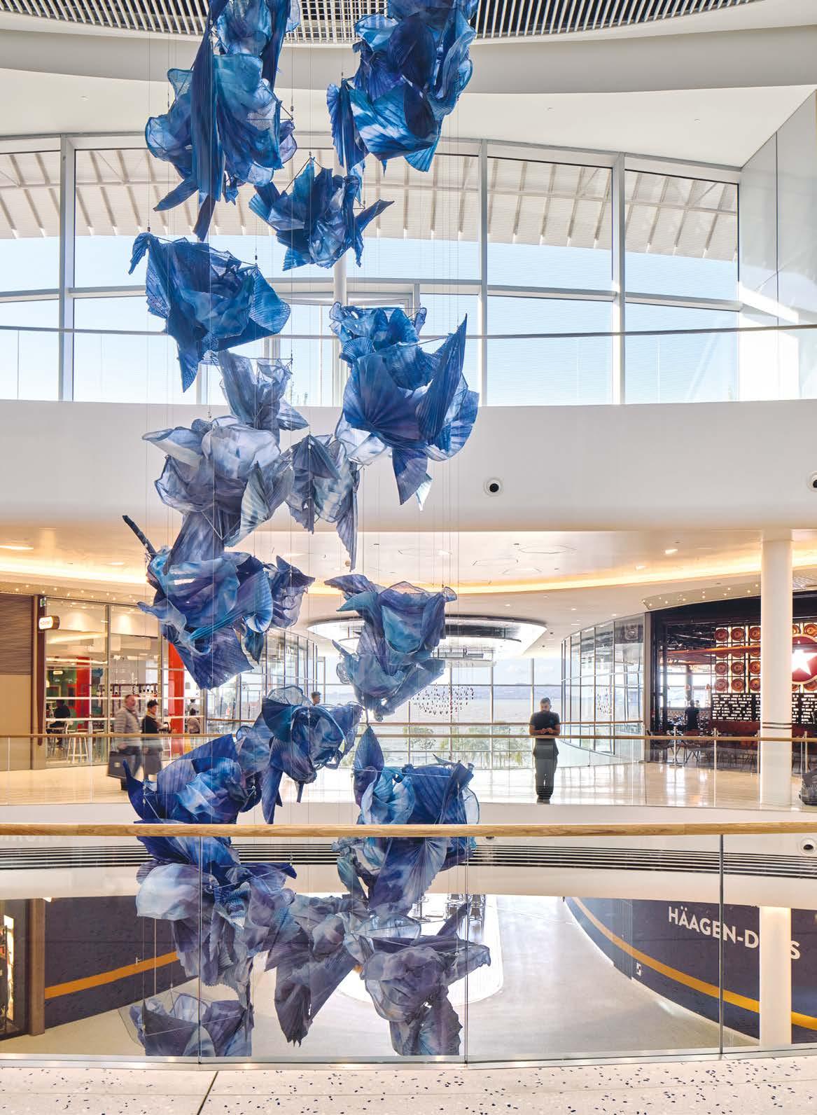 Cahier pro : l'art dans les centres commerciaux