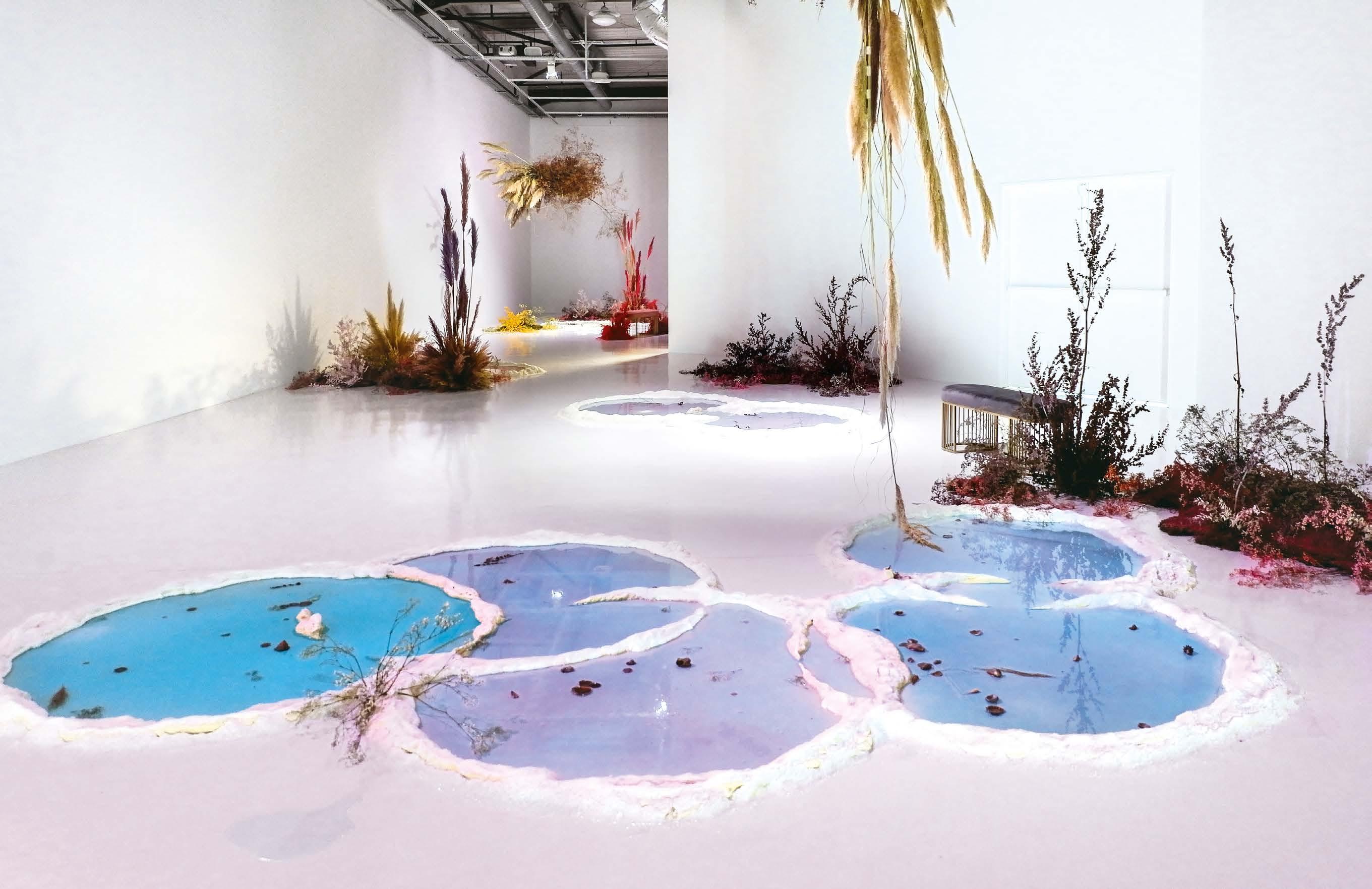 Dossier : L'art contemporain et l'eau